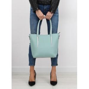 Luxusná dámska mätová kabelka do ruky