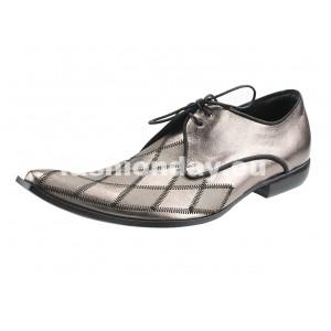 Pánske kožené extravagantné topánky
