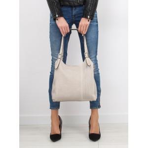 Béžová dámska kabelka do ruky na každý deň
