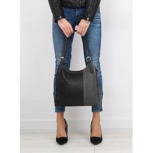 Elegantné dámske kabelky do ruky v čiernej farbe