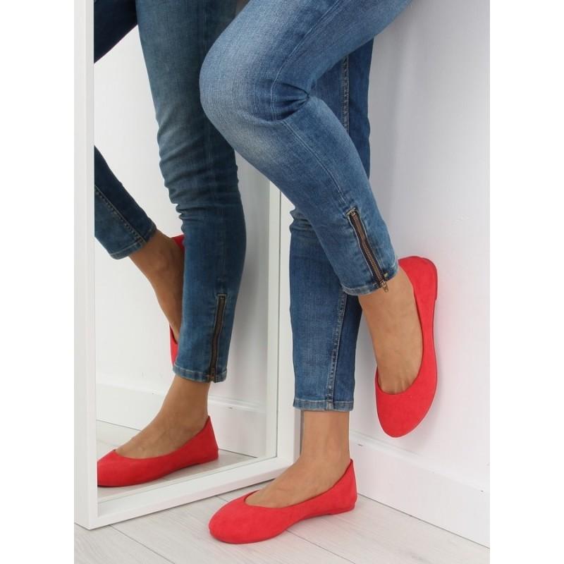 ba523971b Červené dámske balerínky na každú príležitosť - fashionday.eu