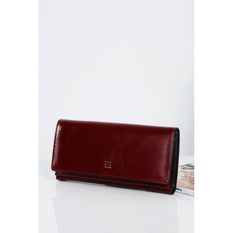 0009291725 Predchádzajúci. Elegantná bordová dámska peňaženka so zlatým zipsom ...