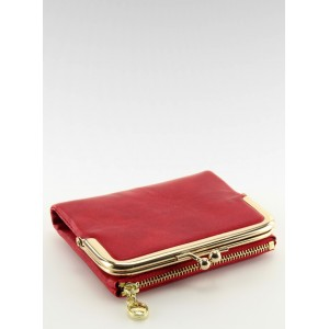 9da1eafb49 Červené dámske peňaženky so zapínaním na zlatý zips - fashionday.eu