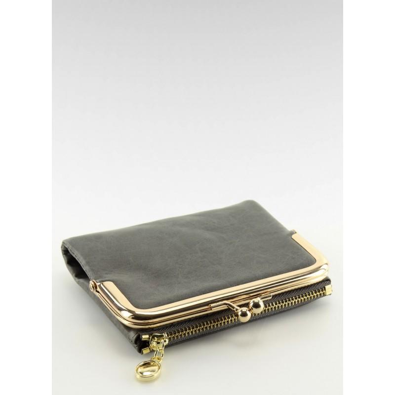 888fae225dc0 Dámska malá peňaženka sivej farby s vreckom na zips - fashionday.eu