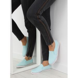 Dámska športová obuv SLIP-ON vo svetlo modrej farbe