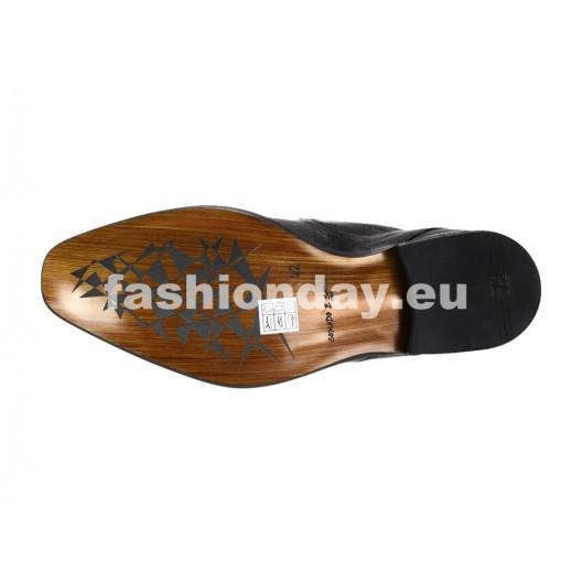 Pánske mokasíny čierne ID: 558