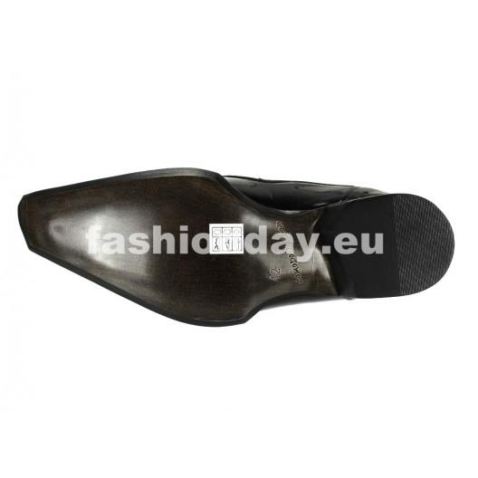 Pánske mokasíny čierne ID: 574