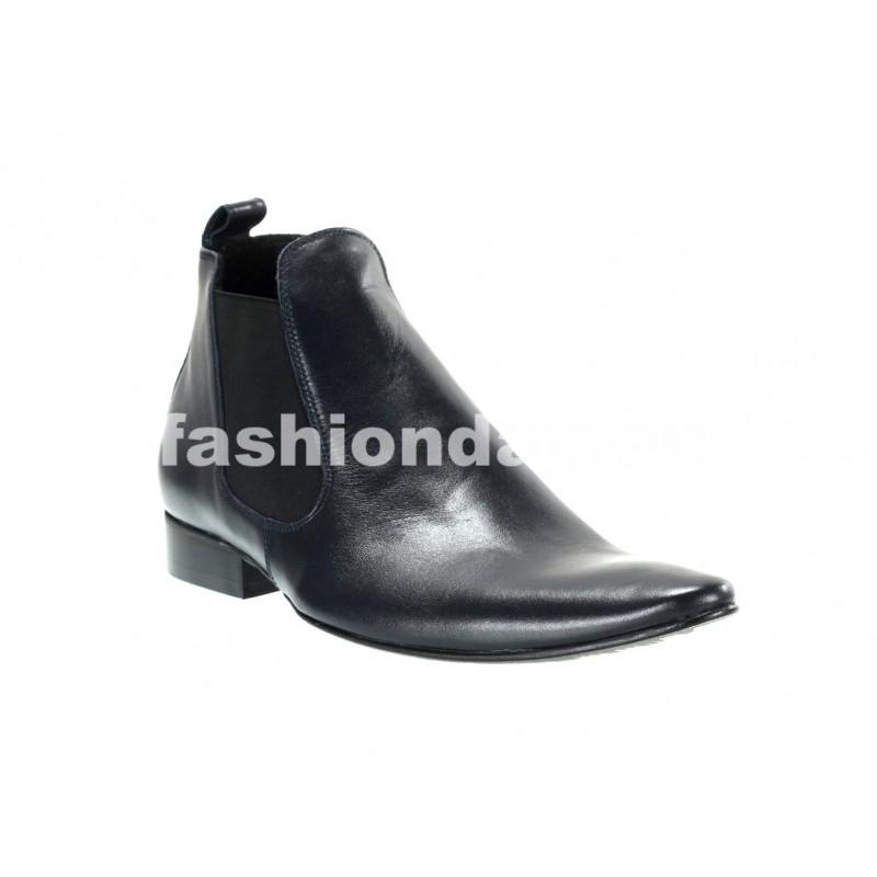 Pánske členkové topánky modré - fashionday.eu 82739629f3