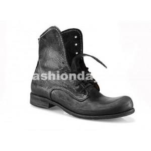 a230b0c3660f Pánske kožené topánky čierne - fashionday.eu