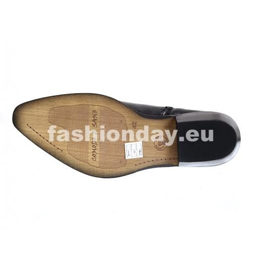 Pánske kožené kovbojky čierne ID: 582