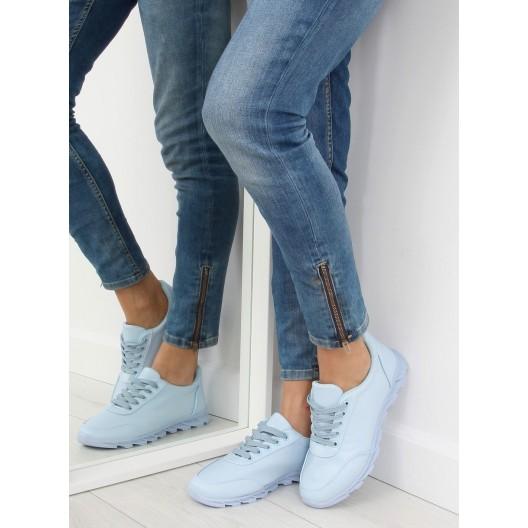 Svetlo modré dámske tenisky na voľný čas