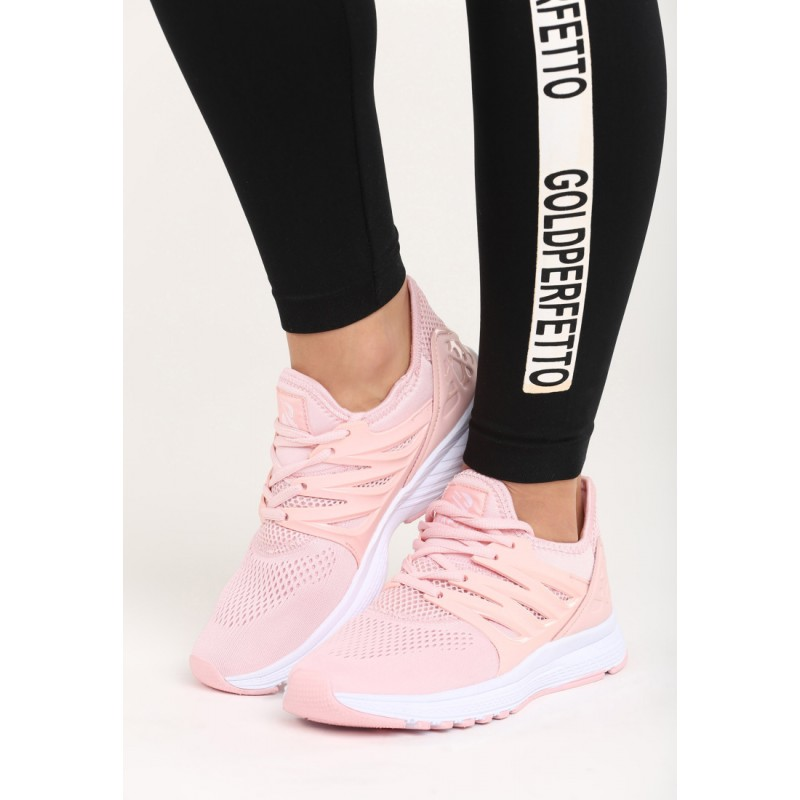e02d10e308 Ružové dámske tenisky s hrubšou podrážkou bielej farby - fashionday.eu