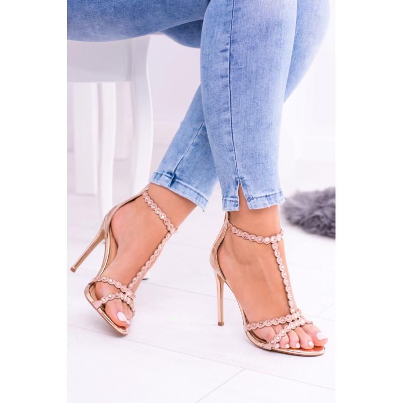 799764c7920c Predchádzajúci. Luxusné dámske sandále na ihličkovom podpätku ...