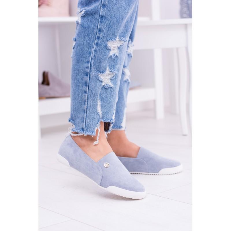Dámska obuv Dámske poltopánky. Predchádzajúci. Pohodlné topánky modrej farby  ... 8dbb951f7e1
