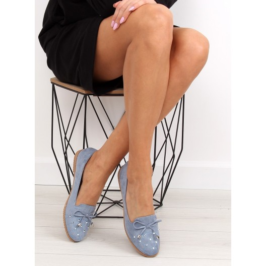 Prechodné topánky dámske s nízkym podpätkom