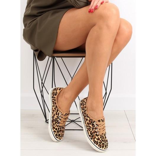 Športová obuv pre dámy s leopardím vzorom