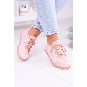 Športové topánky v ružovej farbe pre dámy