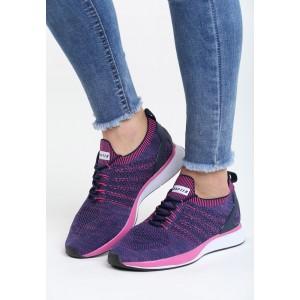 Športová obuv fialovej farby pre dámy