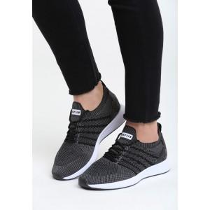 Dámske športové botasky čierne