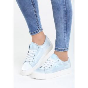 Športová obuv svetlo modrá s hrubšou podrážkou