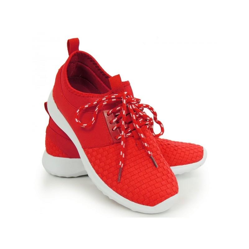 Predchádzajúci. Lacné dámske tenisky na leto v červenej farbe ... 1131ea65da