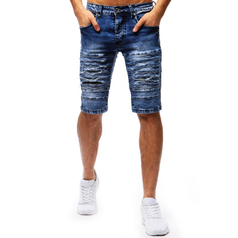 d6758447de7e Krátke rifľové nohavice pánske s vreckami