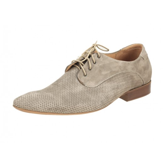 Pánske kožené spoločenské topánky béžové ID: 230