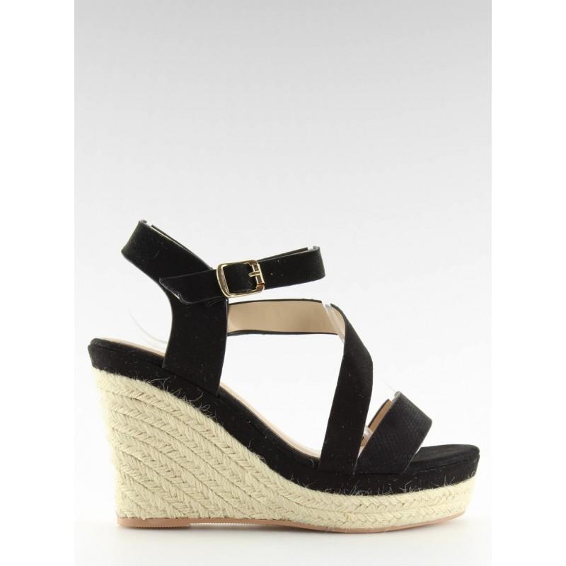 6813a4e08d9b ... platforme · Dámske elegantné sandále v čiernej ...