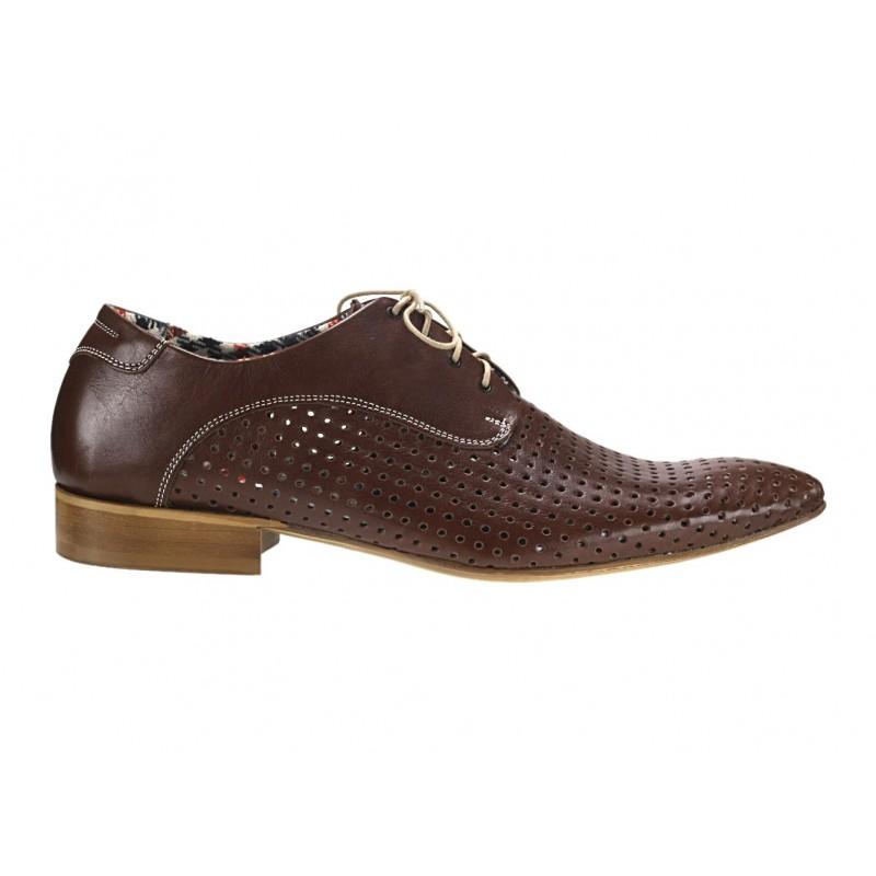Pánske kožené spoločenské topánky hnedé ID  527 · Pánske kožené spoločenské  ... 2ebf7d4090b