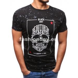 Tričká pre mužov čiernej farby