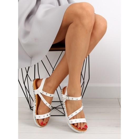 Dievčenské sandále na nízkej podrážke