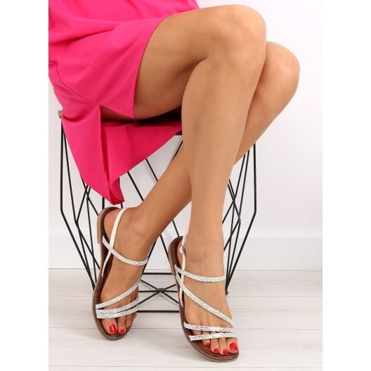Dámske sandále na nízkom opätku