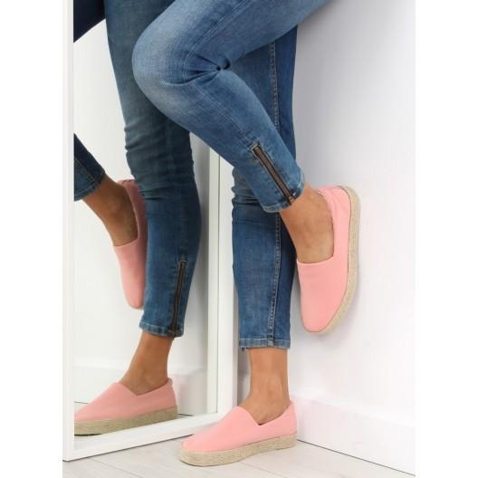 Dámska letná obuv ružovej farby