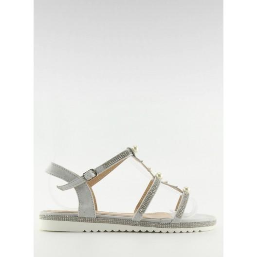 Letné sandále nízke ozdobené kamienkami