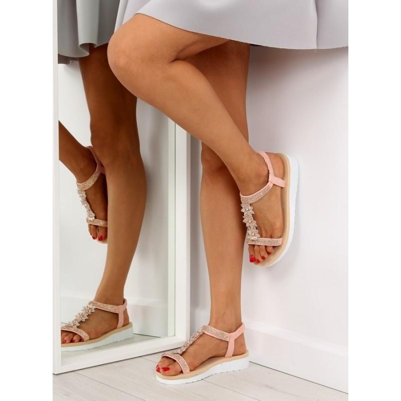 b063a4e1a6 Dámska letná obuv ružovej farby