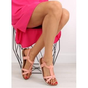 Letné dámske sandále na rovnej podrážke