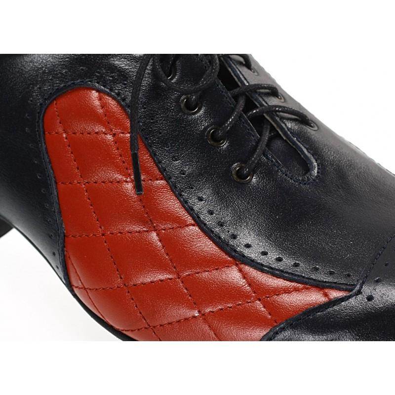 ac83a7a03032d ... modro-červené ID: 573 · Pánske kožené spoločenské topánky ...