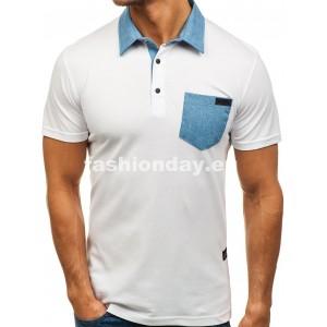 Polo tričká pánske z bavlny