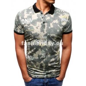 Tričko s golierom moderné