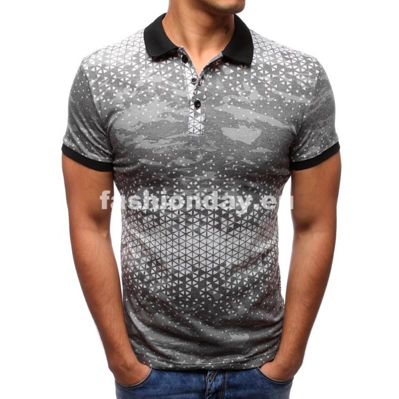 9d2761ae7ecb Polo tričká pánske sivé