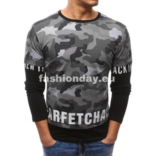 Čierne tričko s dlhým rukávom