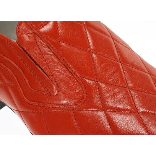 Pánske mokasíny červené ID:589
