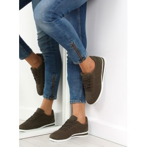 Športová obuv pre dámy zelená