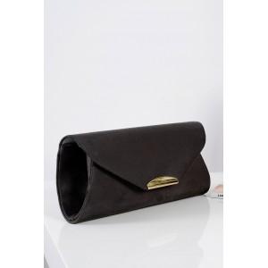 Elegantné kabelky s retiazkou tmavo sivé