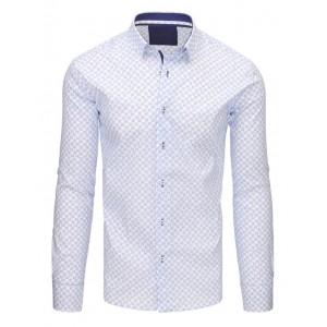 Pánske štýlove košele bielej farby