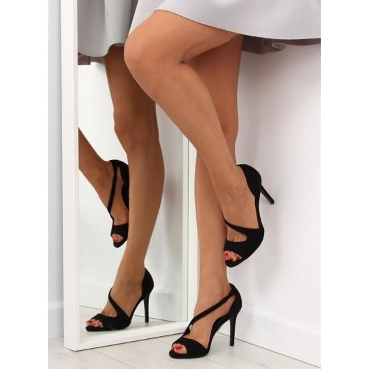 Lodičky pre dámy v čiernej farbe
