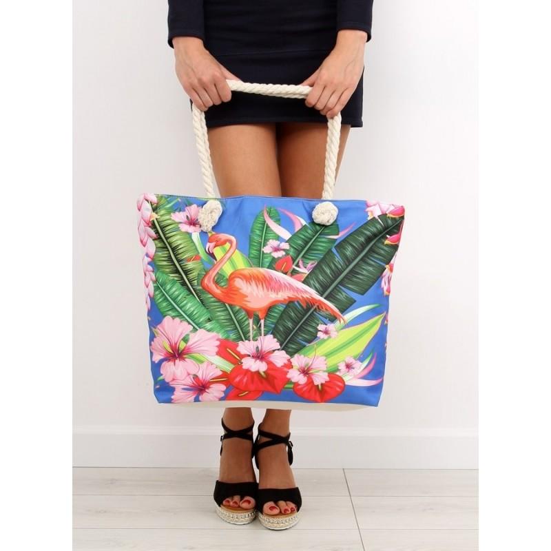 Veľká plážová taška s farebným motívom ded946aa263