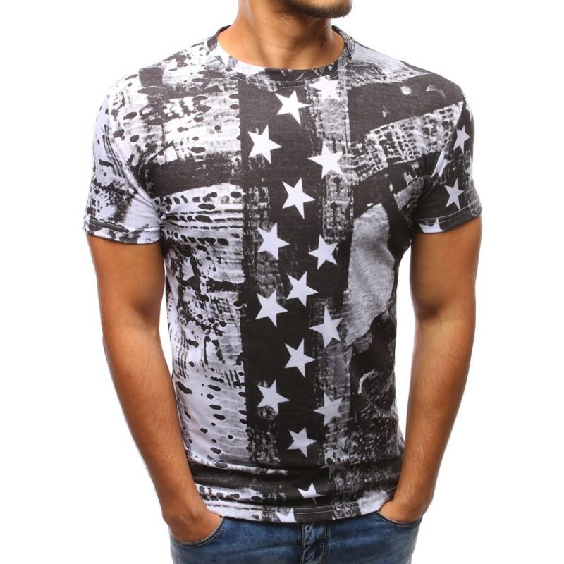 850a60e4f0ae Pánske moderné trička bielej farby