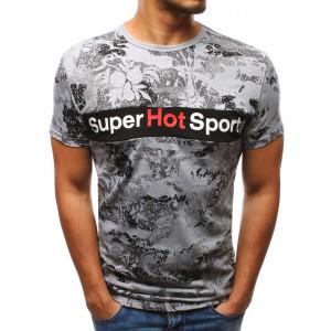 Pánske bavlnené trička s potlačou