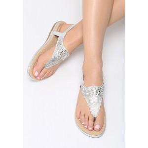 Dámske nízke sandále na leto